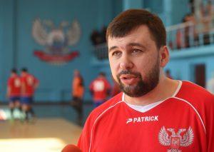 Денис Пушилин принял участие в товарищеском матче по футзалу