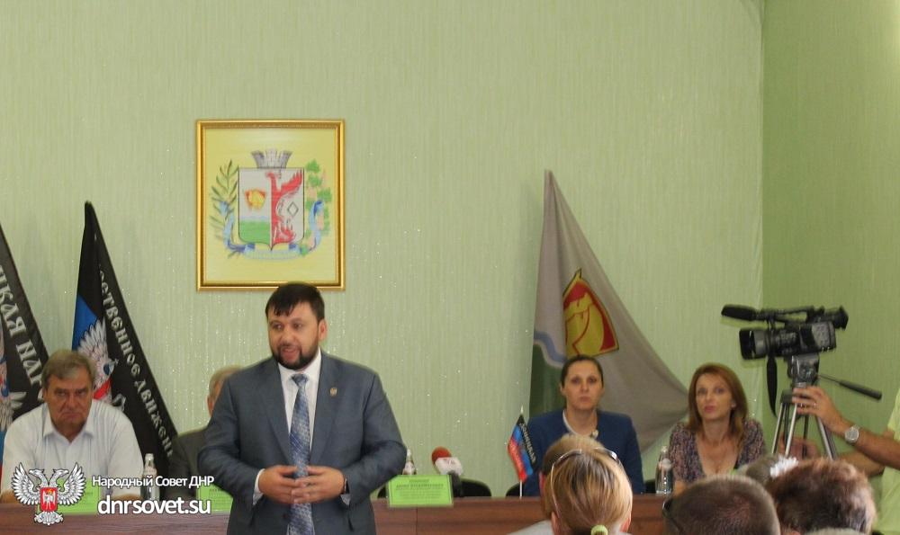 Денис Пушилин: Для молодого государства очень важно, чтобы общество принимало активное участие в строительстве будущего