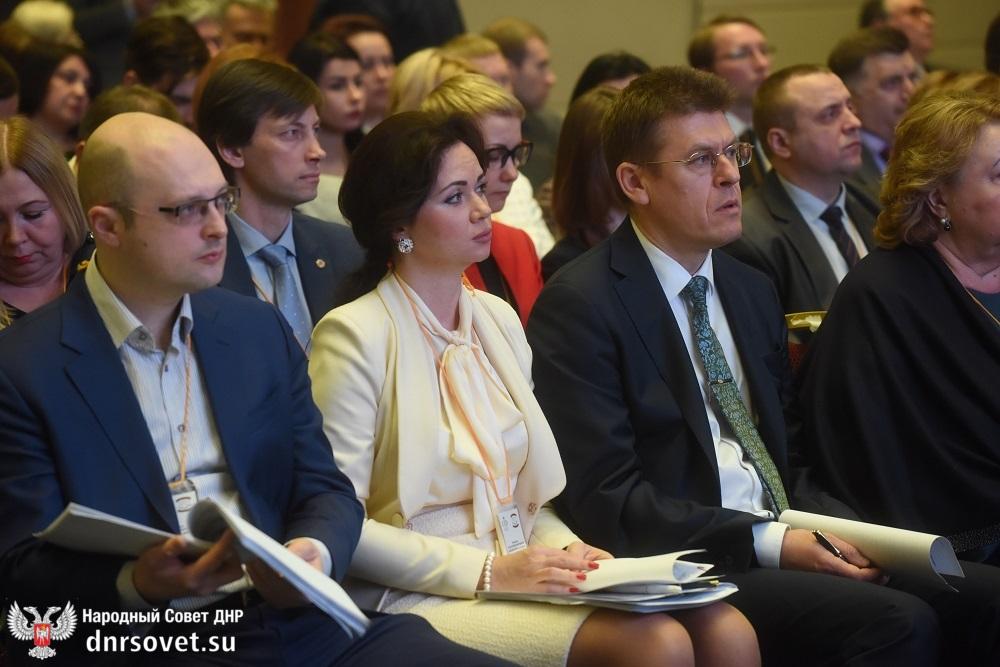 Денис Пушилин принял участие в конференции «Культурное пространство народов России и Донбасса» в Москве