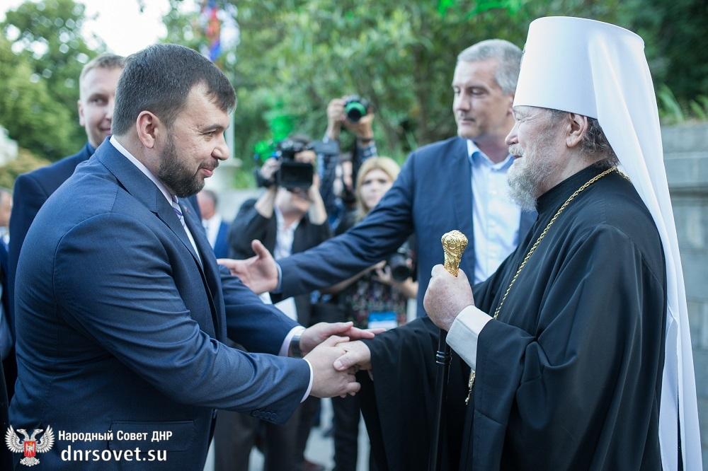 Денис Пушилин принял участие в открытии фестиваля «Великое русское слово» в Крыму