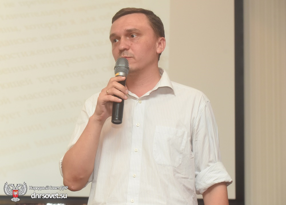Денис Пушилин посетил презентацию книги Елены Никитиной о событиях Русской весны в Донбассе и первых годах становления Республики