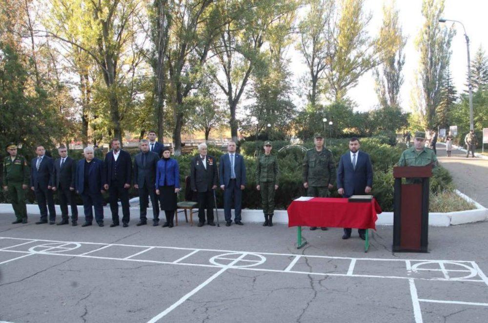 5-й отдельной Донецкой мотострелковой бригаде присвоено имя первого Главы ДНР Александра Захарченко