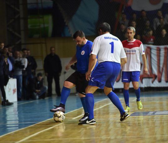 4:1! Сборная ДНР по мини-футболу во главе с Денисом Пушилиным одержала победу в товарищеском матче со сборной ЛНР