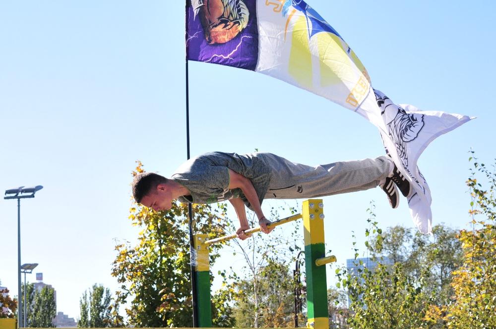 Врио Главы ДНР Денис Пушилин посетил фестиваль уличных видов спорта
