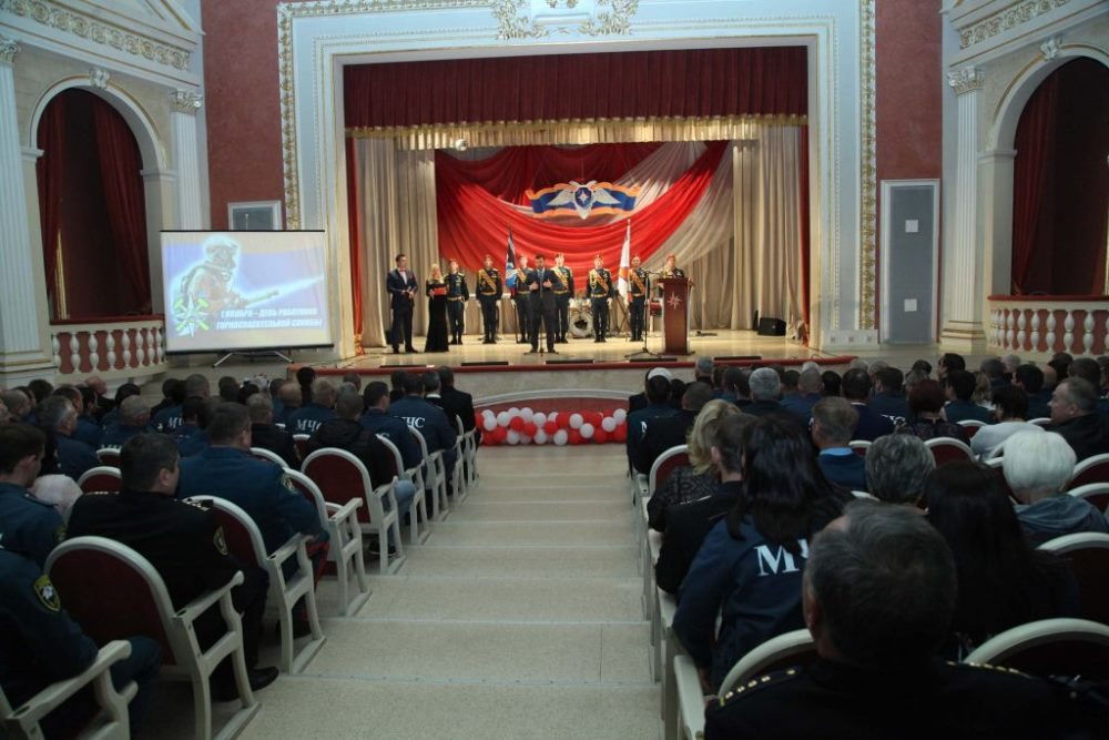 Врио Главы ДНР Денис Пушилин наградил лучших горноспасателей Республики