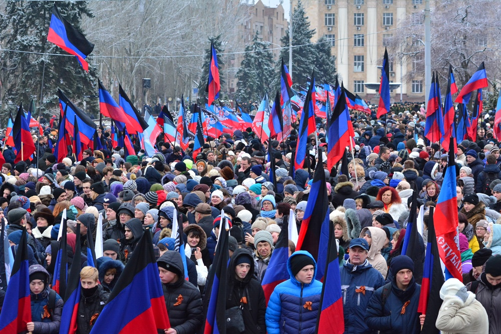 «Мы вместе, и мы сильны!»: Глава ДНР Денис Пушилин поздравил дончан с Днем Георгиевской ленты