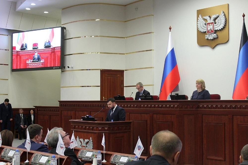 Депутаты Народного Совета поддержали предложенную Главой ДНР кандидатуру на пост Председателя Правительства ДНР