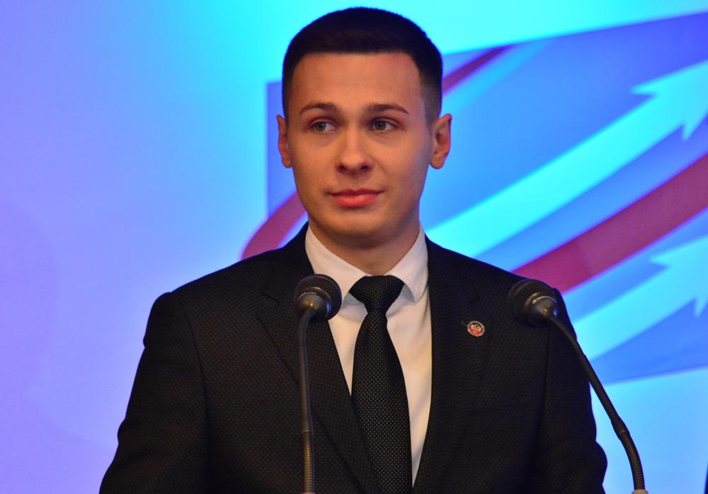 Глава ДНР Денис Пушилин принял участие в четвертом ежегодном съезде общественной организации «Молодая Республика»