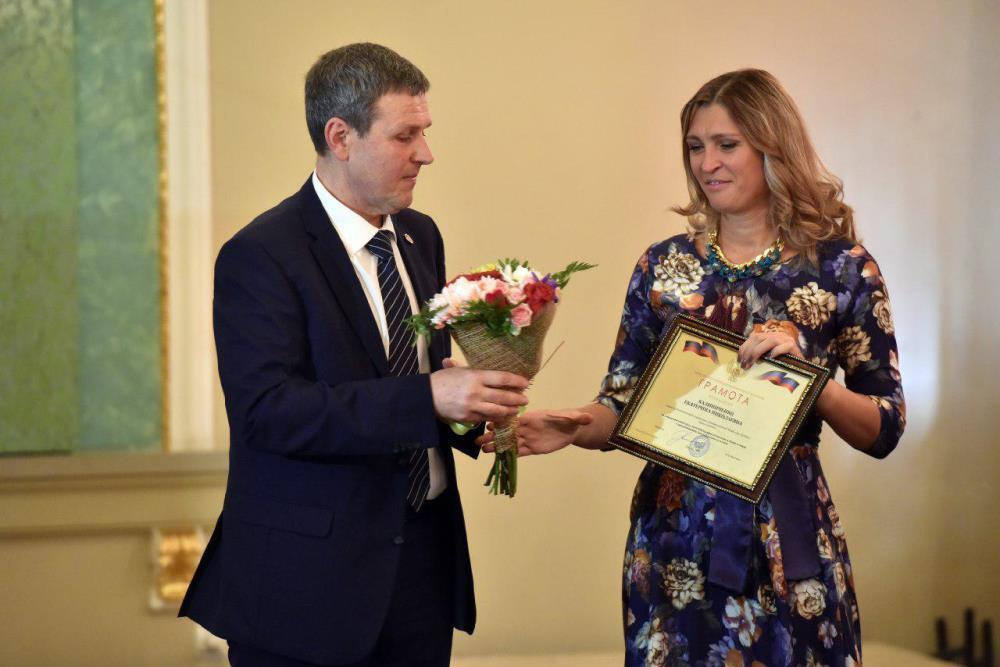 Глава ДНР Денис Пушилин наградил работников культуры за творческие достижения и высокое профессиональное мастерство