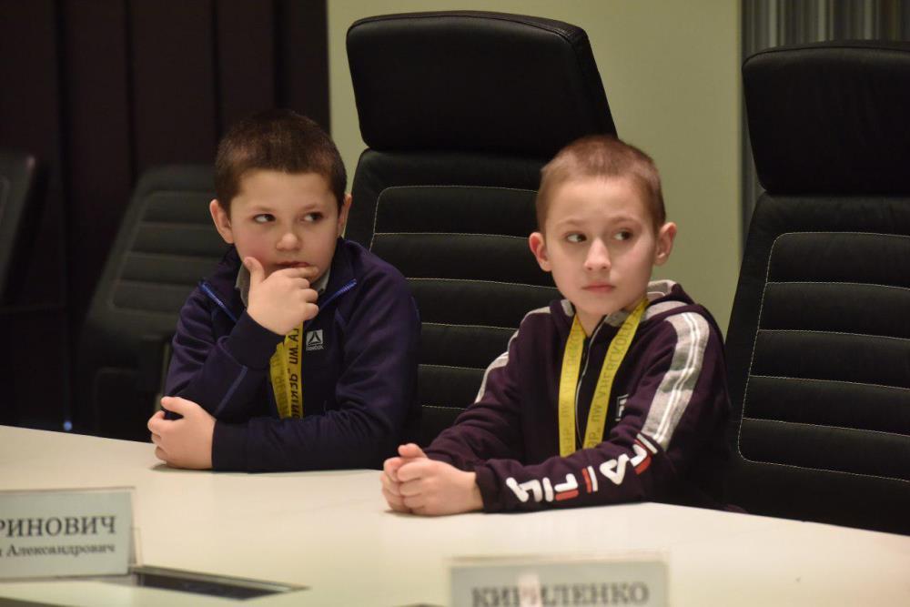 Дети из прифронтовых районов ДНР поделились с Денисом Пушилиным своими впечатлениями о поездке в Российскую Федерацию