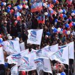 Глава ДНР Денис Пушилин поздравил жителей государства с пятой годовщиной провозглашения Республики