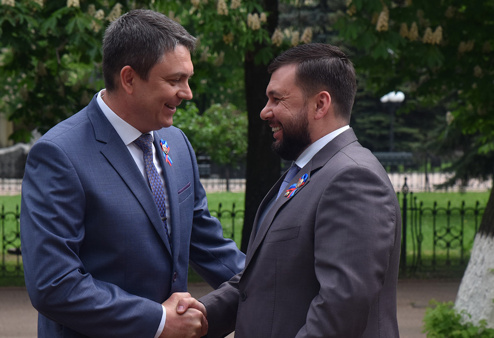 Глава ДНР Денис Пушилин примет участие в торжествах по случаю Дня Луганской Народной Республики