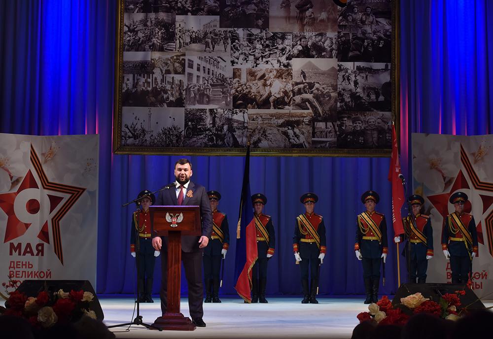 «Вы – поколение мужественных и отважных героев»: Денис Пушилин поздравил ветеранов Великой Отечественной войны с Днем Победы