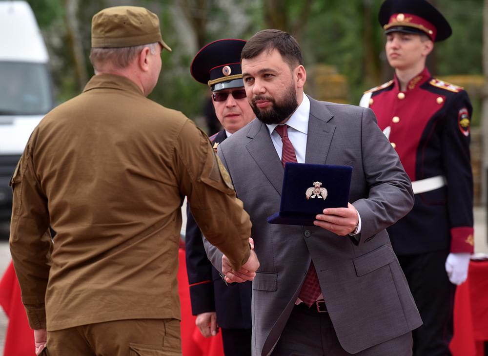 Глава ДНР Денис Пушилин наградил сотрудников силовых структур, выполняющих особые задачи
