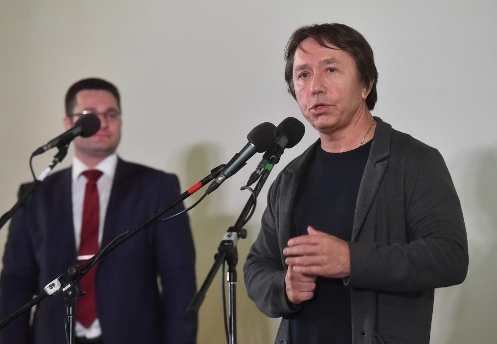 Глава ДНРДенис Пушилин посетил презентацию художественного фильма «Донбасс. Окраина»