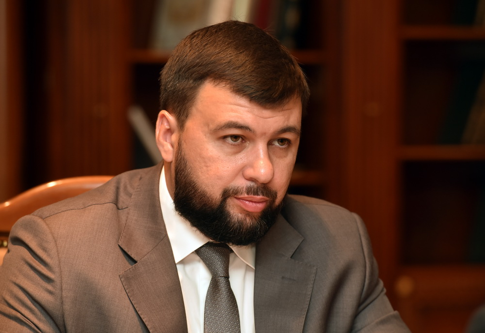 Глава ДНР Денис Пушилин провел встречу с министром транспорта Дмитрием Подлипановым