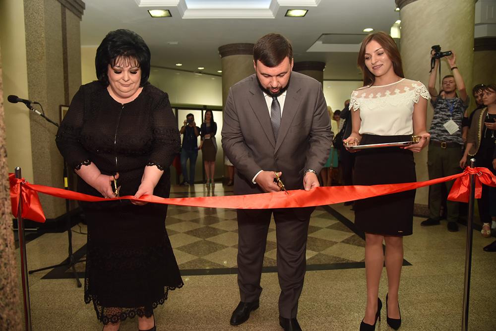 «Необходимо, чтобы каждый рубль попадал туда, куда запланировано»: Денис Пушилин посетил открытие Республиканского казначейства