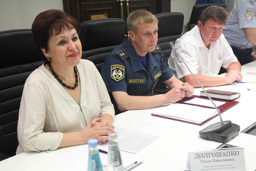 Глава ДНР Денис Пушилин провел совещание по вопросу подготовки к осенне-зимнему периоду