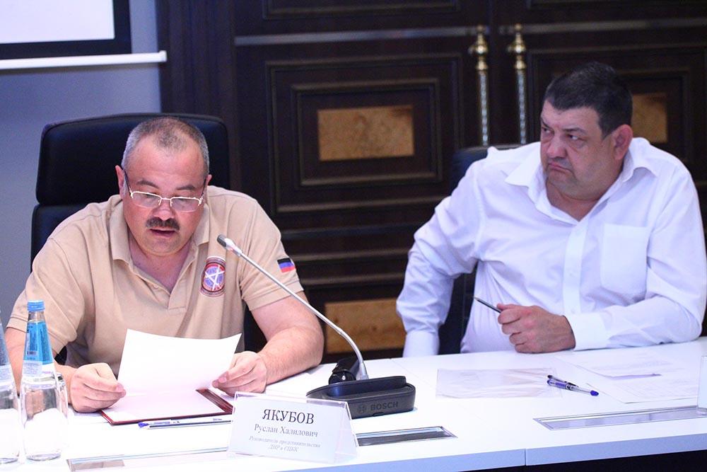 Глава ДНР Денис Пушилин провел совещание по вопросу обострения ситуации на линии соприкосновения