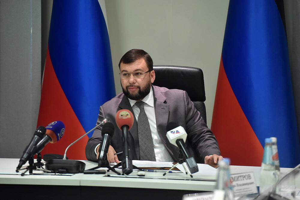 Под председательством Дениса Пушилина в Донецке состоялось очередное заседание по вопросам подготовки к зиме