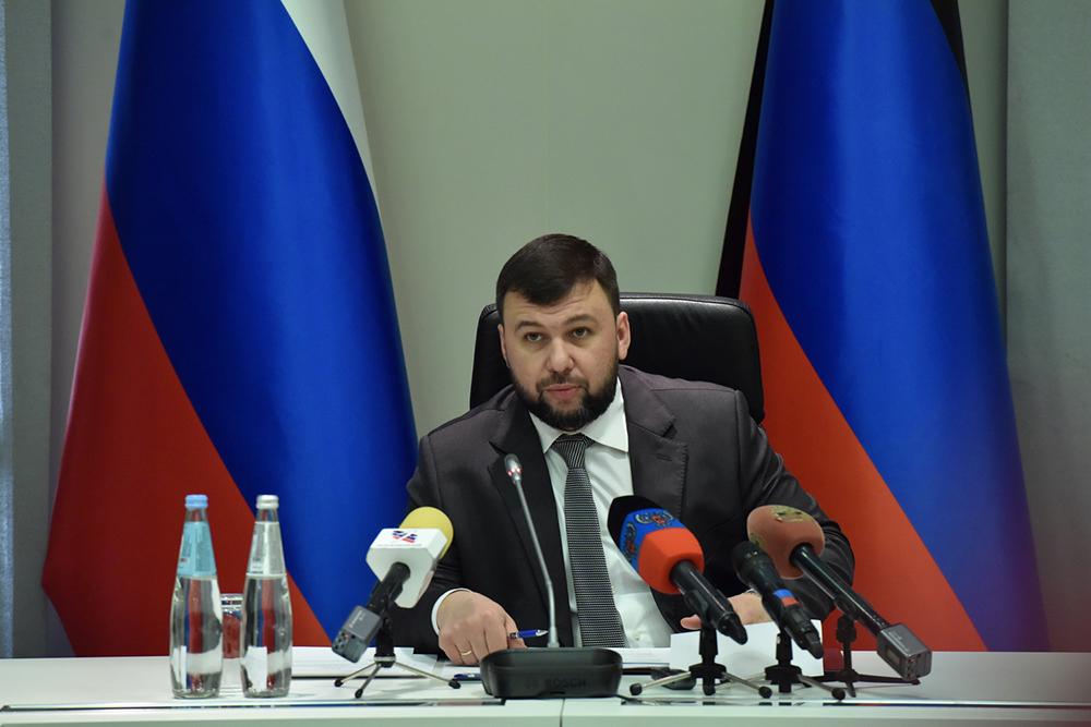 Глава ДНР Денис Пушилин принял участие в обсуждении вопросов подготовки к весенне-летнему периоду