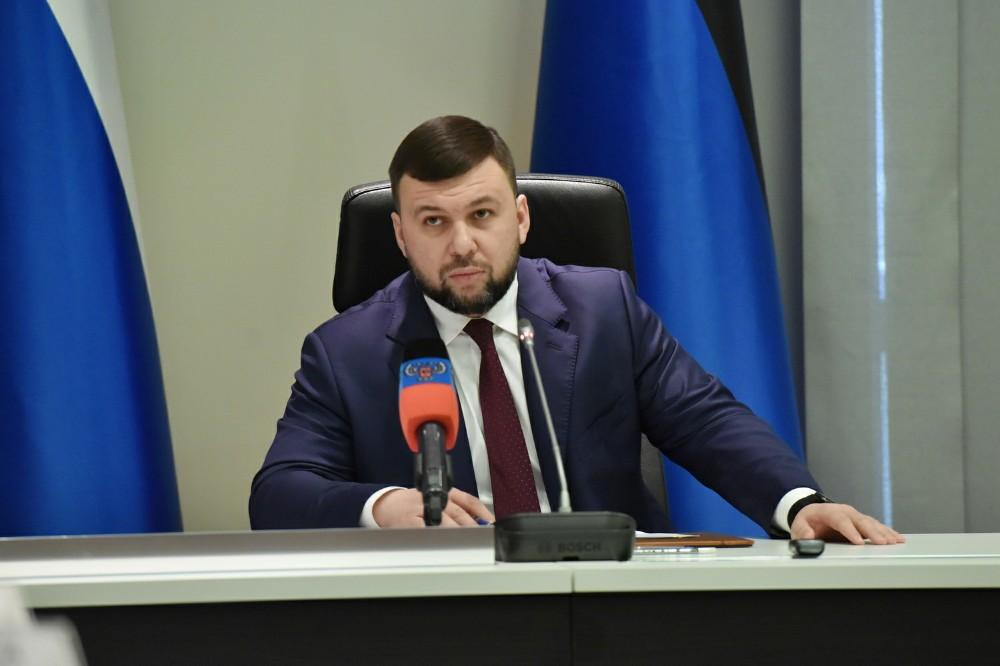 Заявление Главы ДНР Дениса Пушилина в связи с гибелью мирной жительницы Горловки от обстрела со стороны ВФУ