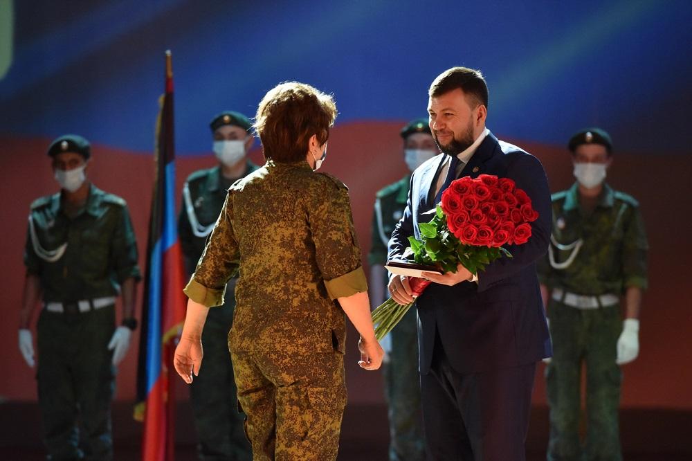 Глава ДНР Денис Пушилин подчеркнул ключевую роль Народного ополчения в жизни Республики