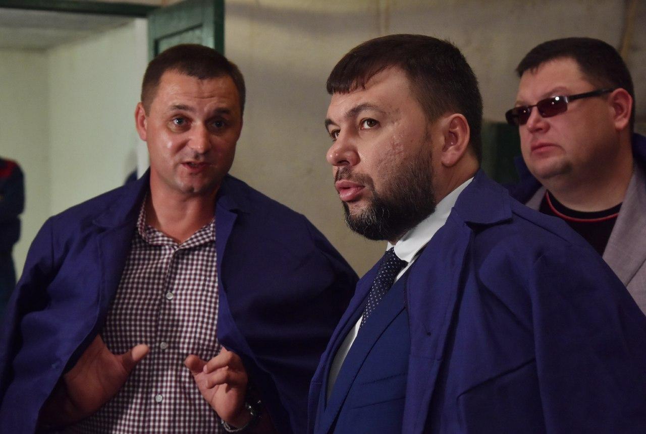 Глава ДНР Денис Пушилин ознакомился с работой Новоазовской птицефабрики