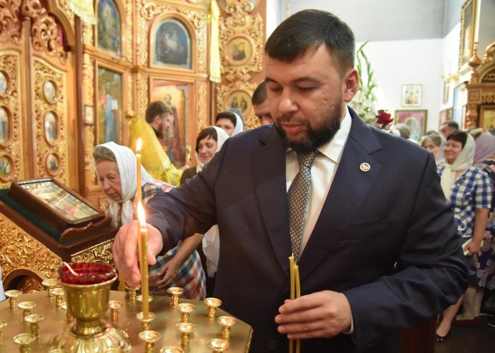 Глава ДНР Денис Пушилин поздравил жителей Республики с Днем Крещения Руси
