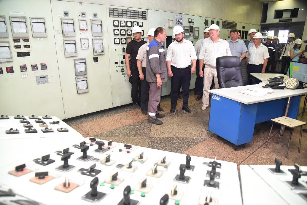 Глава ДНР Денис Пушилин отметил вклад Старобешевской ТЭС в энергетическую безопасность Республики