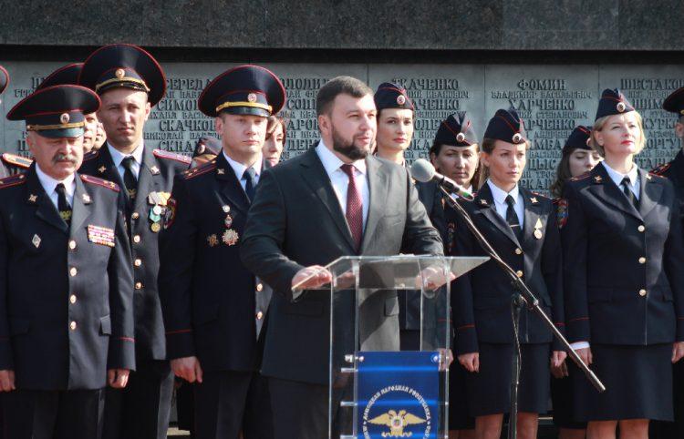 «Учитесь и служите так, чтобы Республика вами гордилась!»: Денис Пушилин напутствовал курсантов Академии внутренних дел