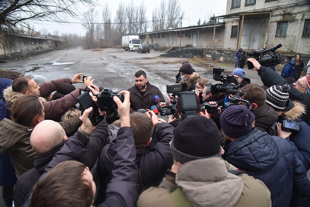 Денис Пушилин объявил о начале вакцинации от коронавируса