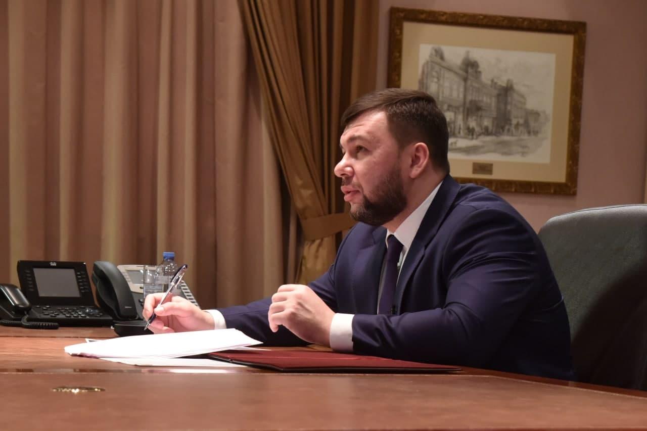 Денис Пушилин поручил главе Минздрава разработать программу реабилитации медицинских работников